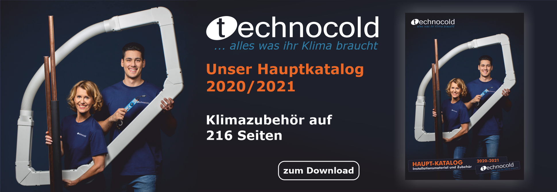 Banner Hauptkatalog